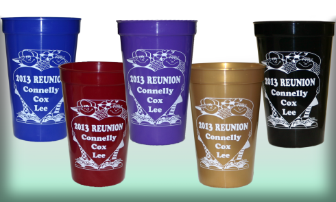 Family reunion cups