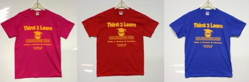 Thirst 2 Learn Shirts